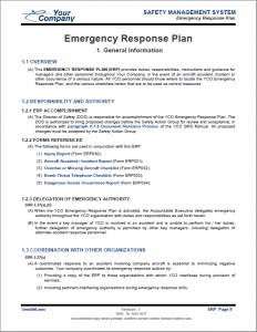 emergency response plan. Black Bedroom Furniture Sets. Home Design Ideas